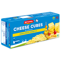 Britannia cheese cubes