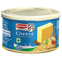 Britannia processed cheese tin