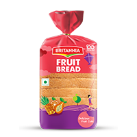 Britannia fruit bread product