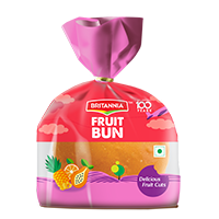 Britannia fruit bun product