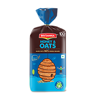 Britannia honey oats bread