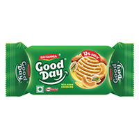 Britannia Good Day pista and badam Biscuit