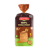Britannia whole wheat bread product