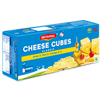 Britannia cheese cubes product
