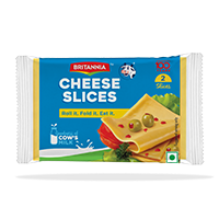 Britannia cheese slices product