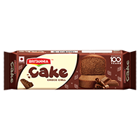Britannia chocolate bar cake product