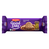 Britannia New Good Day Choco chip Biscuit product
