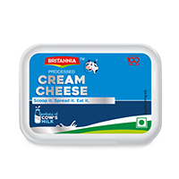 Britannia cream cheese product