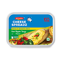 Britannia four pepper tango cheese product