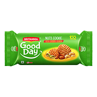 Britannia Good Day  Nuts Cookie Biscuit product