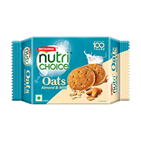 Britannia nutri choice oats milk and almond
