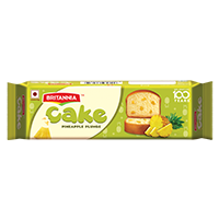 Britannia pineapple bar cake product