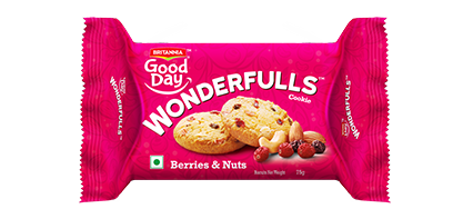 Britannia Good Day Berries and Nuts Cookies
