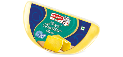 Britannia natural cheddar cheese