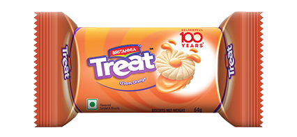 Britannia treat orange