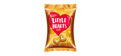 Britannia Little Hearts crunchy biscuit