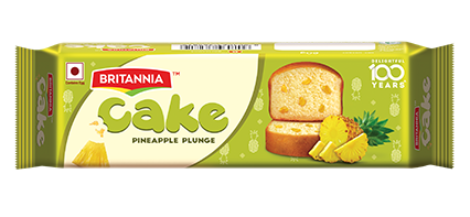 Britannia pineapple bar cake