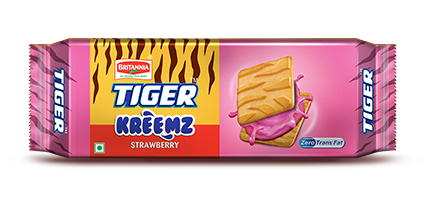 Britannia tiger strawberry